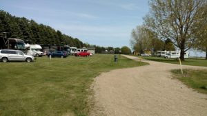 Motor Homes at Brewer Lake
